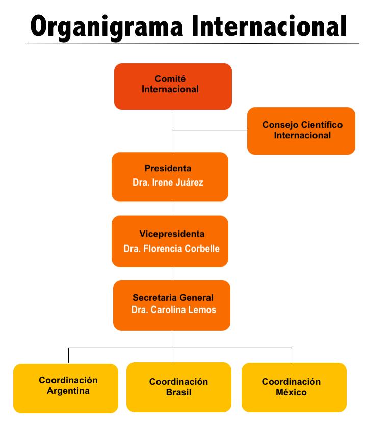 Organigrama internacional